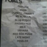 Foals Setlist San Diego