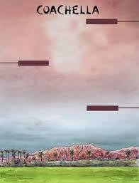 Blank Coachella Poster